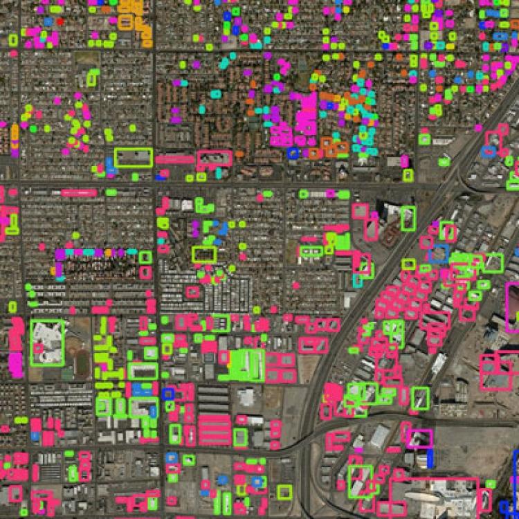 Satellite images © DigitalGlobe 2019