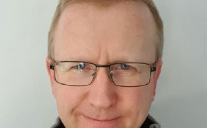 Adam Ireland, the new learning and development manager for Airmic