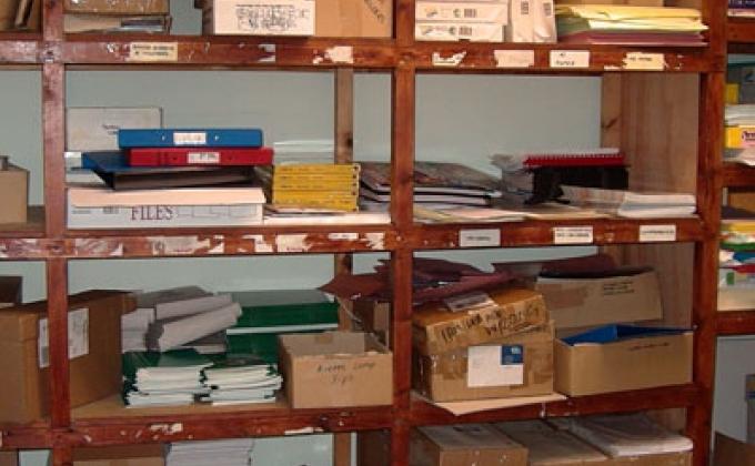 Airmic's office circa 2001